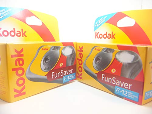 Appareil photo jetable Kodak Fun Flash - 39 poses, lot de 2