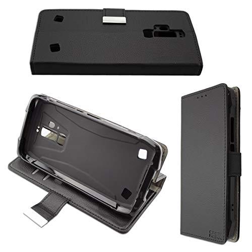 caseroxx Handy Hülle Tasche kompatibel mit Blackview BV9700 / BV9700Pro Bookstyle-Hülle Wallet Hülle in schwarz