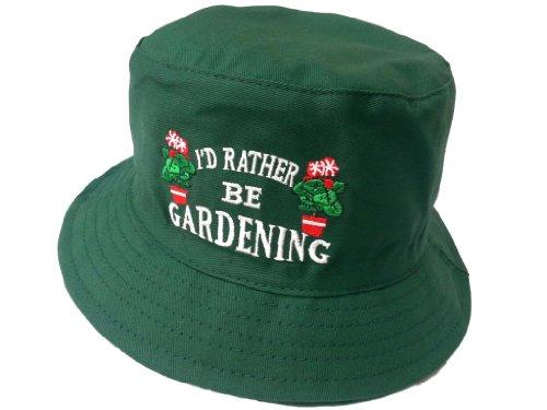 Chapeau de seau à brousse Disponible en petites tailles (57 cm) Moyen (58 cm) et grand (59 cm) - Vert -