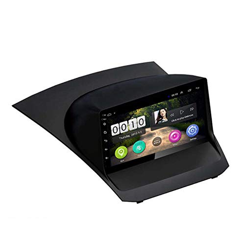 Android 8.1 Autoradio Für Ford Fiesta 2009-2017 Auto-Stereo-GPS-Navigation Touch-Display-Auto-Media-Player Doppeltes DIN-Kopf-Gerät Unterstützen WiFi-Lenkradst(Size: for 2013-2017,Color:4G+WIFI:1+16G)