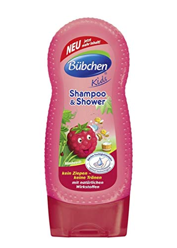 BÜBCHEN KIDS Shampoo & Shower Himbeere 230 ml