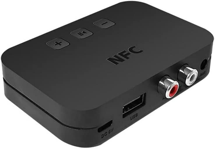 SBSNH 5.0 Bluetooth-compatible Fashionable Receiver A2DP Jack RCA Max 61% OFF AUX 3.5mm