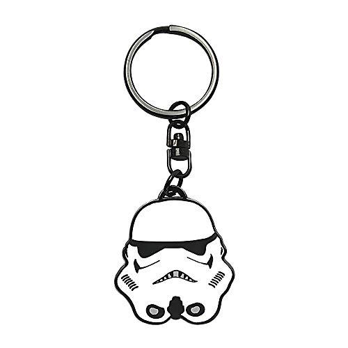 Llavero de metal para casco de Stormtrooper de Star Wars