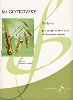 ゴトコフスキー : ブリヤンス (サクソフォン、ピアノ) ビヨドー出版
