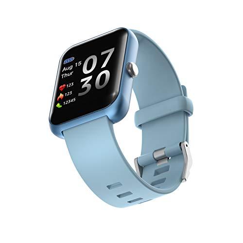 GUJIN Smartwatch,Fitness Armbanduhr mit Blutdruck Messgeräte,Pulsoximeter,Pulsuhren Fitness Uhr Wasserdicht IP68 Fitness Tracker Schrittzähler Uhr für Damen Herren Smart Watch für iOS Android Handy
