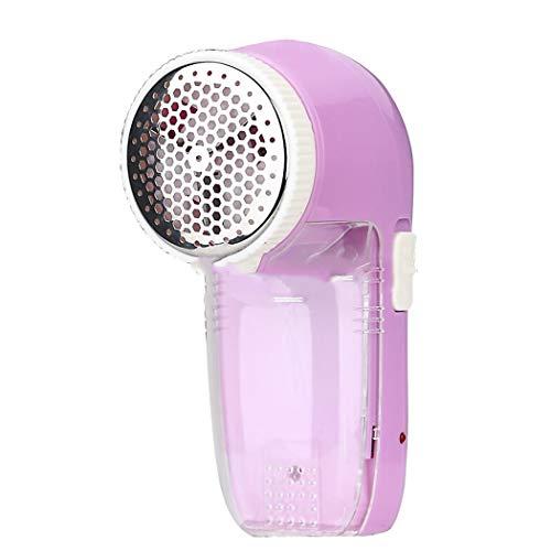 AXIANQI Haarbal, trimmer, USB-inline scheermachine, ontharingsborstel, om mee te wandelen, USB-stijl met 3 messen, roze om te spelen