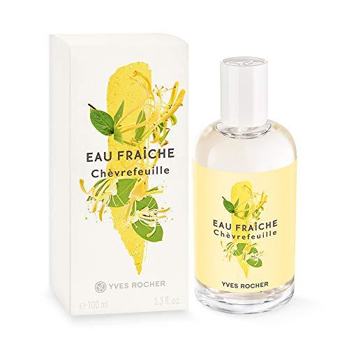 Yves Rocher LA COLLECTION Eau Fraîche Geißblatt, erfrischendes Bodyspray für Frauen und Mädchen, 1 x Zerstäuber 100 ml