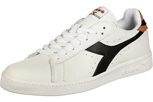 Diadora, Uomo, Game L Low, Pelle, Sneakers, Bianco, 45 EU