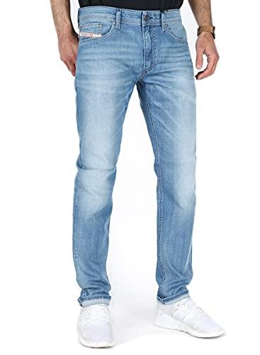 Diesel Herren Jeans Hose Thavar-XP Slim-Skinny Mens Jeanshose 00SECG R18W6 Stretch (W33/L32)