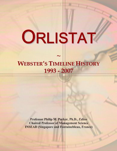 Orlistat: Webster's Timeline History, 1993 - 2007