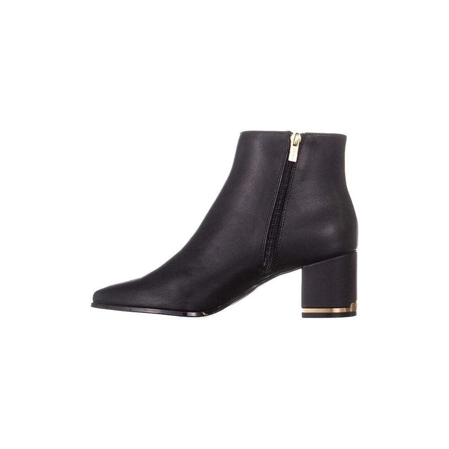 もし大理石滑る[Calvin Klein] Womens Fioranna Almond Toe Ankle Chelsea Boots [並行輸入品]