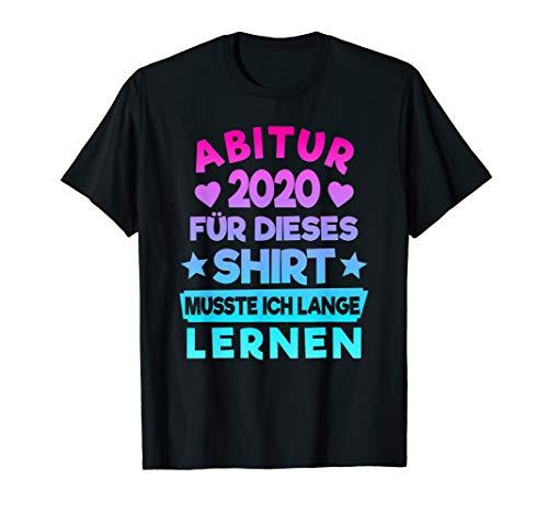 Abitur 2020 Geschenk Abiturient Abi 2020 Motto Spruch Lustig T-Shirt