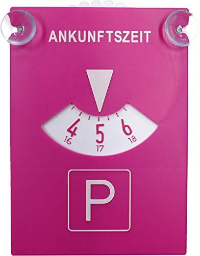carstyling XXL Parkscheibe Pink mit Sauger ~ schneller Versand innerhalb 24 Stunden ~