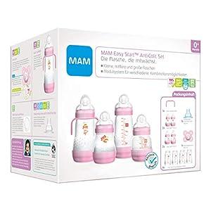 Instrucciones en lengua extranjera - MAM Easy Start - Juego de biberones anticólicos para bebé con chupete botellas etc.