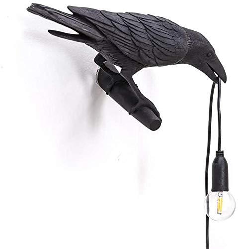 Lámpara De Pared De Pájaro De Cabecera De Dormitorio Creativo Moderno LED Lámpara De Mesa con Forma De Animal Lindo Lámpara De Pared De Decoración del Hogar