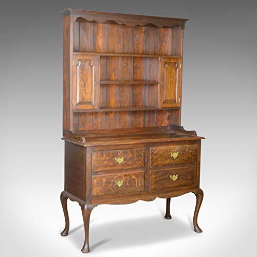 London Fine Antiques Vestidor Antiguo, Inglés, Roble, Victo