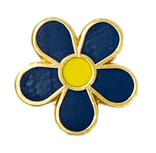 MALALPHA Flor de masonería de Pin de nomeolvides 01