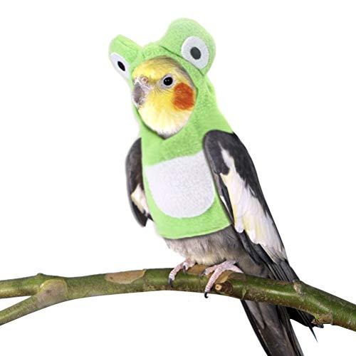 Oyria Ropa para Mascotas de Animales pequeños, Traje de Vuelo de pájaros, Ropa cómoda y Duradera para pájaros para la Fiesta de Navidad, cumpleaños, espectáculos de Mascotas, Accesorios para Fotos