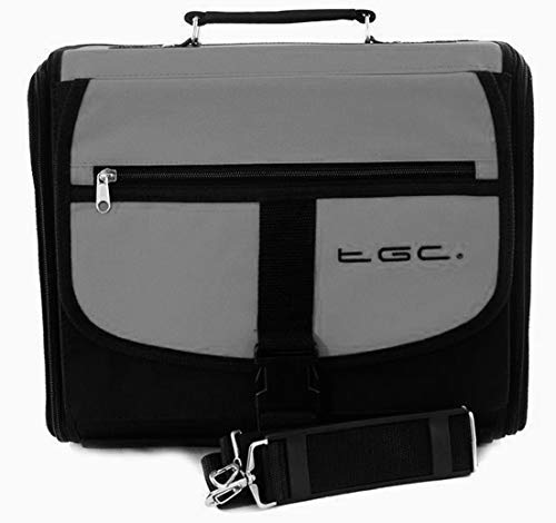 Xbox One Carry Case - Xbox One Green & Black Travel Bag - Xbox One Case By Consoles And Gadgets