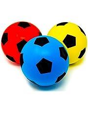 E-Deals Tamaño 20cm (5) Suave Espuma Esponja Interior Al Aire Libre fútbol balón de fútbol Elige tu Color