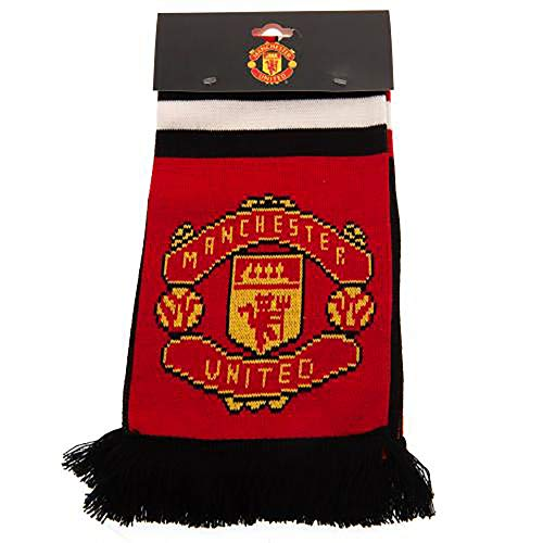 Official Licensed Manchester United F.C - Scarf (ST)