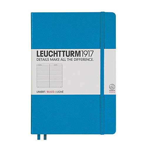 ロイヒトトゥルム ノート A5 横罫 アジュール 346693 正規輸入品