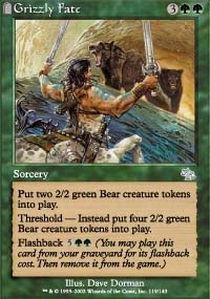 Magic: the Gathering - Grizzly Fate - Judgment - Foil