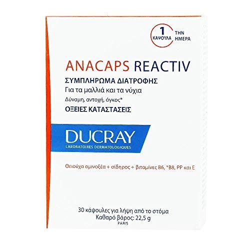 Anacaps Reactiv 30 CPR OM 2017 Ducray, Nahrungsergänzungsmittel bei gelegentlichem Haarausfall