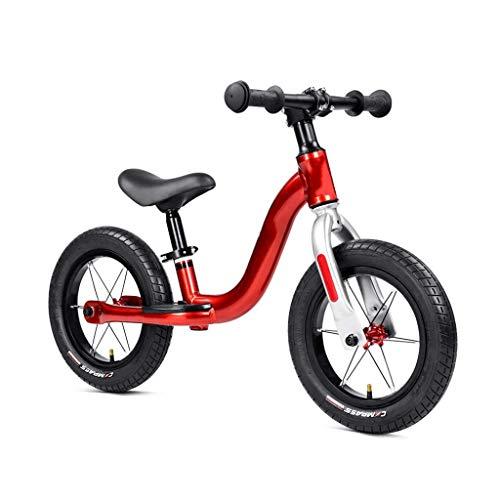 Tricycle Trike Bilic Bilancia Bilancia, Equilibrio per bambini all'aperto Principianti Nessuna formazione per pedale Bicicletta da allenamento 2-6 anni Pneumatici pneumatici super leggeri, 3 colori (c