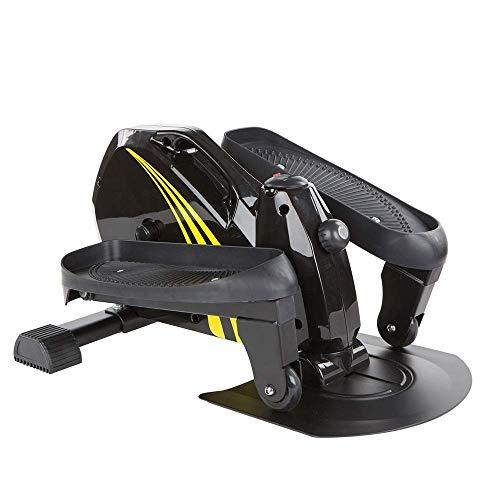FGDSA Step Machines Fitness Macchina ellittica Multifunzionale Tubo da Stufa per Uso Domestico con Coulisse Stepper Nero per la casa per la casa e la Palestra (Color : Black Size : One Size) Indoor o