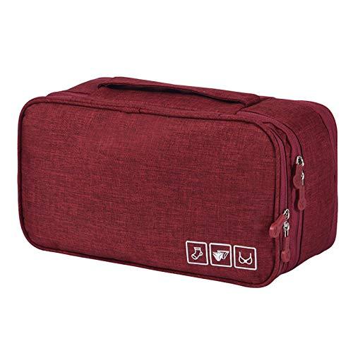 Ansemen Cubos de Embalaje para Viaje, Impermeable Ropa Interior Cubos de Embalaje Sujetador Calcetines Organizador de Almacenamiento