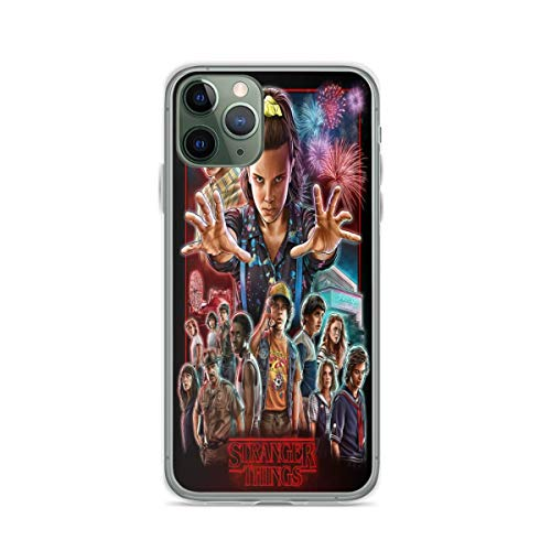 Phone Case Stranger Things Compatible with iPhone 6 6s 7 8 X XS XR 11 Pro Max SE 2020 Samsung Galaxy Bumper Drop Absorption
