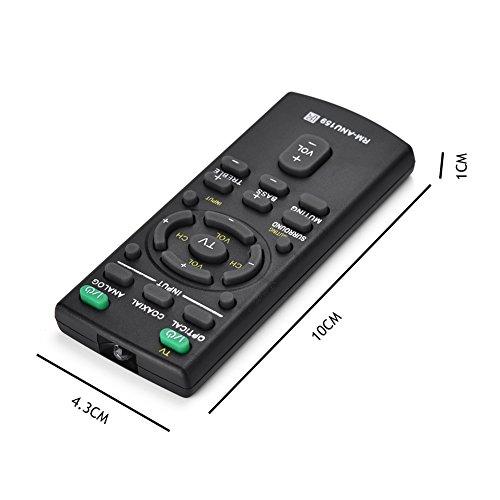 fosa Mando a Distancia del Teclado RM-ANU159 para Soundbar Sony, Control Remoto...