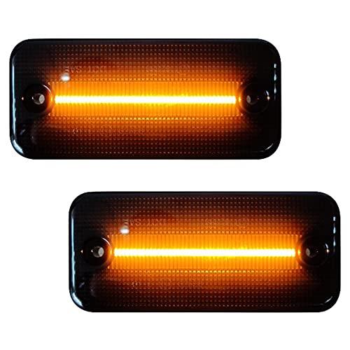 LED Seitenmarkierungsleuchte kompatibel mit Ducato IV-ECO,1 Paar Begrenzungsleuchte Blinker Seitenmarkierungs Leuchte