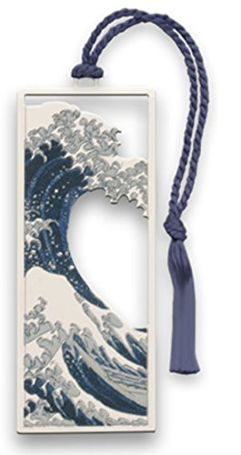Hokusai's The Great Wave Metal Bookmark