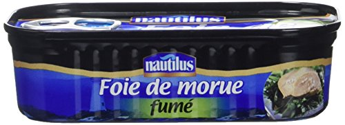 Nautilus Foie de Morue Fume 120 g