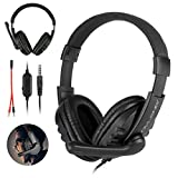 3.5mm Wired Gaming Headset Gamer Headphones Bass Stereo Surround Sound Earphones With Noise Canceling Microphone For PC Gamer