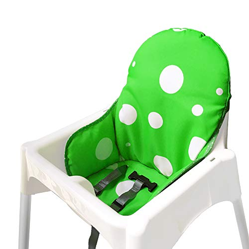 Ikea Antilop Hochstuhl Sitzbezüge & Kissen von ZARPMA, Waschbar Faltbarer Babyhochstuhl Bezug Ikea Kinder Sitz Covers Stuhlkissen