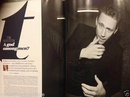 ELLE magazine TOM HIDDLESTON exclusive INTERVIEW coriolanus THOR lily allen NEW