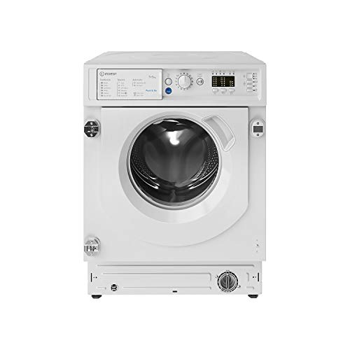 Indesit BIWDIL75125UKN Push&Go 7kg Wash 5kg Dry Integrated Washer Dryer