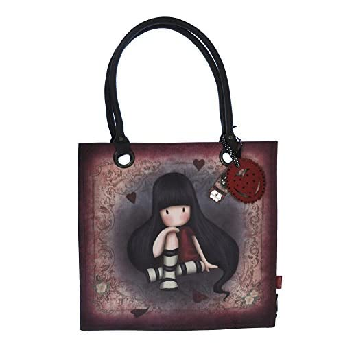 The Collector - Large Coated Shopper Bag By Gorjuss