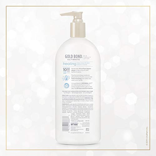 4132TpClnpL - Gold Bond Ultimate Healing Skin Therapy Lotion with Aloe, Family Size, 20 Ounces
