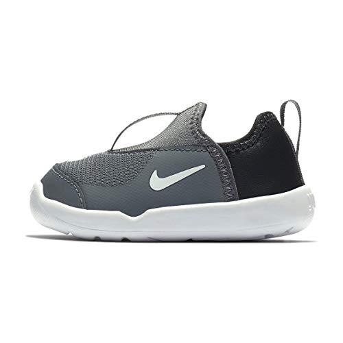Nike Lil' Swoosh (TD), Pantofole Unisex-Bimbi 0-24, Multicolore (Cool Grey/White/Anthracite 002), 22 EU