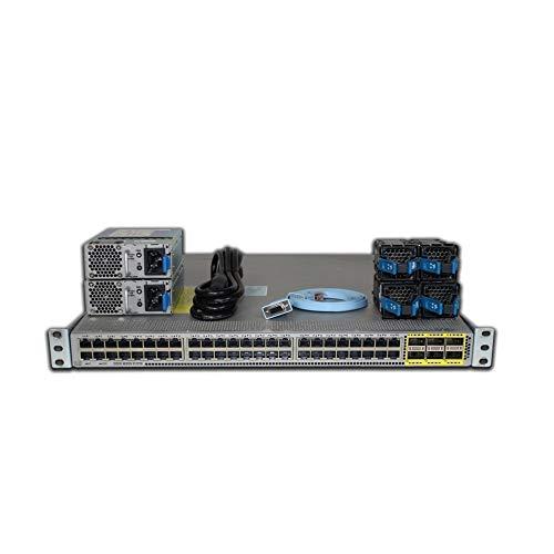 Cisco Nexus 3172TQ 48P 10GbE RJ45 6P QSFP+ Switch N3K-C3172TQ-10GT (Renewed)