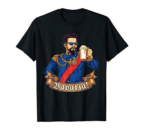 Prost Bavaria - lustiges König Ludwig Bier T-Shirt Bayern