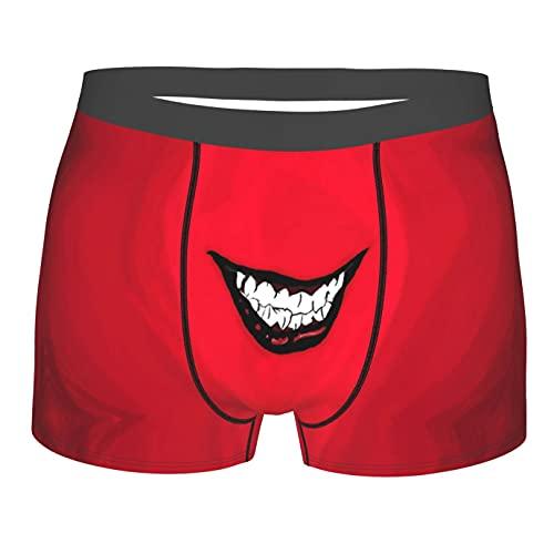 Bjiuda Jokers Herren Boxershorts, Unterwäsche, bequem, Filme, Boxershorts, lustige Geschenke für Jungen Gr. S, Schwarz