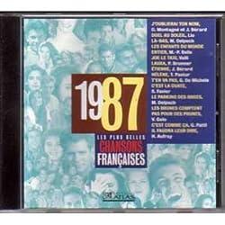 Les plus belles chansons françaises 1987 CD