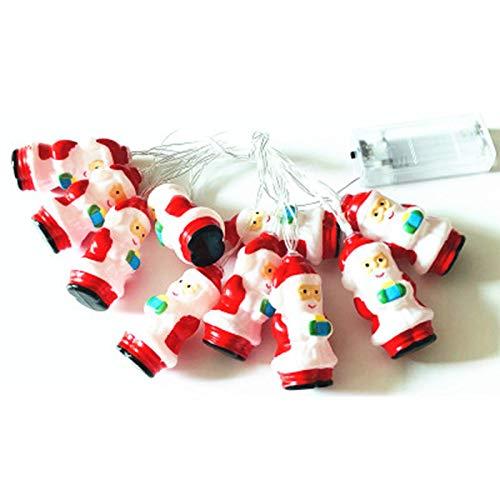 Aneagle Cadena de luz, 3m20led de color cálido de la cadena de luz, impermeable de la bola de la luz de la batería de la cadena de luz de interior al aire libre decoración del hogar