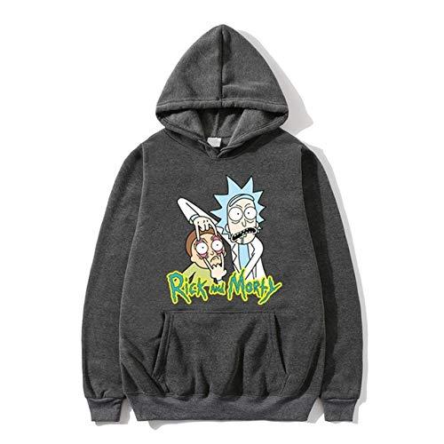YDMZMS Brand Hoodies Unisex sweatshirt mannen hoodie Comic Casual trainingspak pullover L 5 donkergrijs
