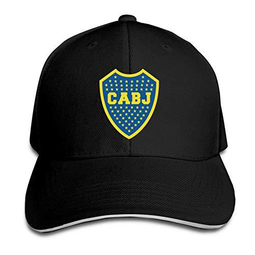 FETEAM Gorra con Visera Informal para Hombre de Boca Juniors Woman
